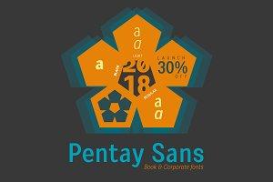 Pentay Sans -5 styles- 30% OFF