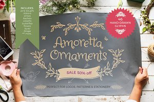 Amoretta Ornaments