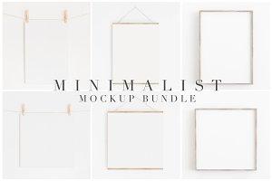 Mockup Bundle Modern Minimalist