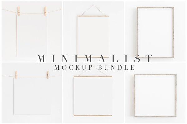 minimal mockups
