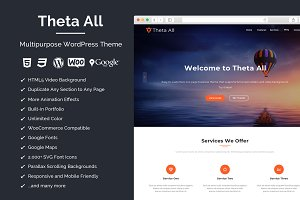Theta All - Multipurpose WP Theme