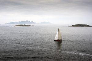 View of the Cies Islands