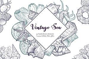 Vintage Sea