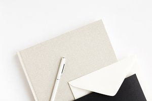 Minimalist Stationery Flat Lay 4