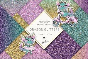 Dragon Glitter Textures