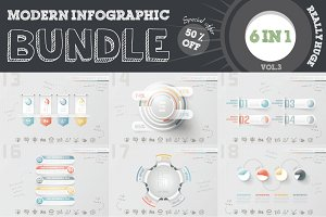 50% OFF Infographic Bundle