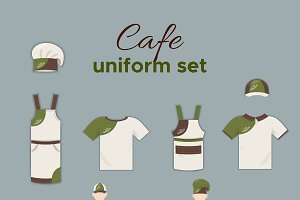 Cafe Uniform Collection