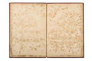 Open old book JPG