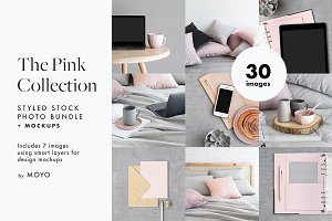 The Pink Collection Photos & Mockups