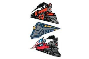 Vintage Steam Locomotive Mascot Coll