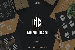 6in1 Ultimate Monogram creator
