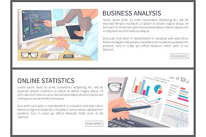 Business Analysis and Online Statistics Banners