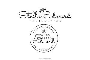 Stella Edward Premade Logo