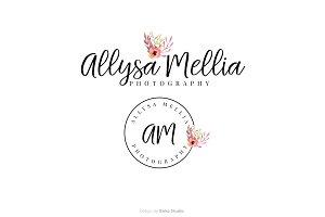 Allysa Mellia Premade Logo