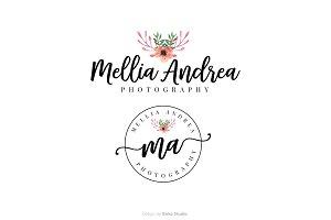 Mellia Andrea Premade Logo
