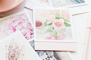 Stock Photo - Tea & Greeting Cards