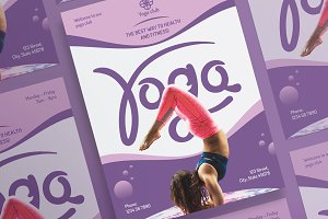 Posters | Yoga Fitness Club