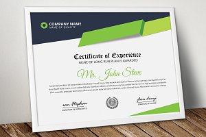Company Certificate Word Template