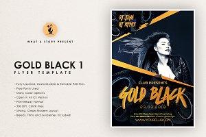 Gold Black 1