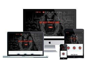 ET Fitness – Joomla Fitness Theme