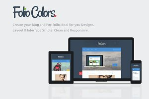 Folio Colors: Portfolio & Blog Theme