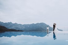Amazing place and beautiful couple by  in People