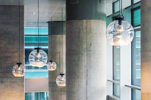 Modern industrial design interior