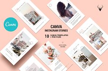 CANVA Modern Instagram Stories Pack by  in Social Media