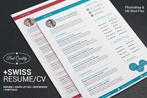 Swiss Style Resume CV