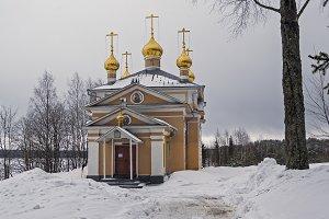 Church in Orthodox monastery