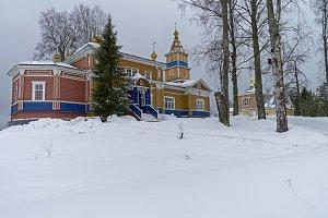 Church in Orthodox monastery.