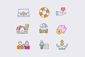 9 Insurance Icons