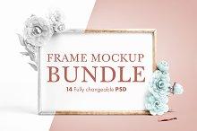 14 Fully Changeable Frame Mockups