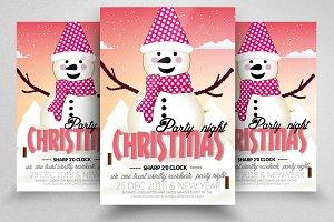 Sweet Christmas Psd Flyer Template