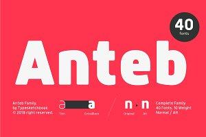 Anteb Font