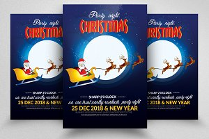 Christmas Flyers Templates