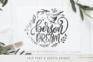 Berson Dream Font TRIO and extras