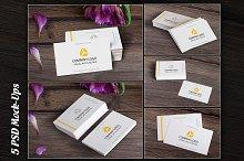 Business Card, MockUp, BUNDLE