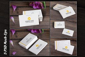 Business Card, MockUp, BUNDLE