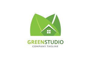 Green Studio Logo