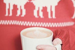 Winter holidays coffee