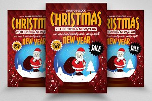 Christmas & New Year Flyers