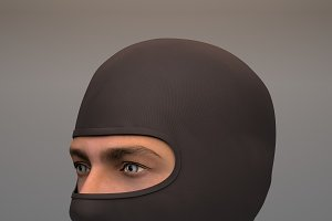 Military Black Balaclava mask