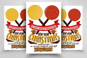 Sweet Christmas Flyers Templates