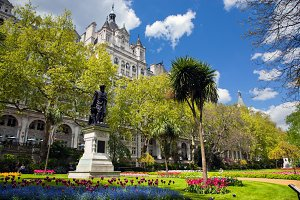 Victoria Embankment Gardens, London