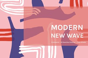 Modern New Wave | Patterns