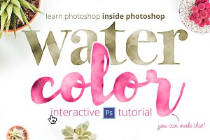 Learn Photoshop: Watercolor Tutorial