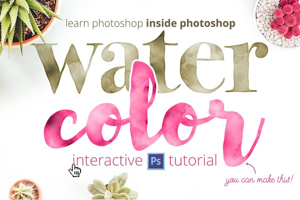 Actions: Josh Johnson - Learn Photoshop: Watercolor Tutorial