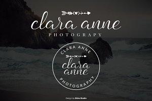Clara Anne Premade Logo