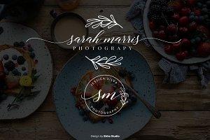 Sarah Marris Premade Logo